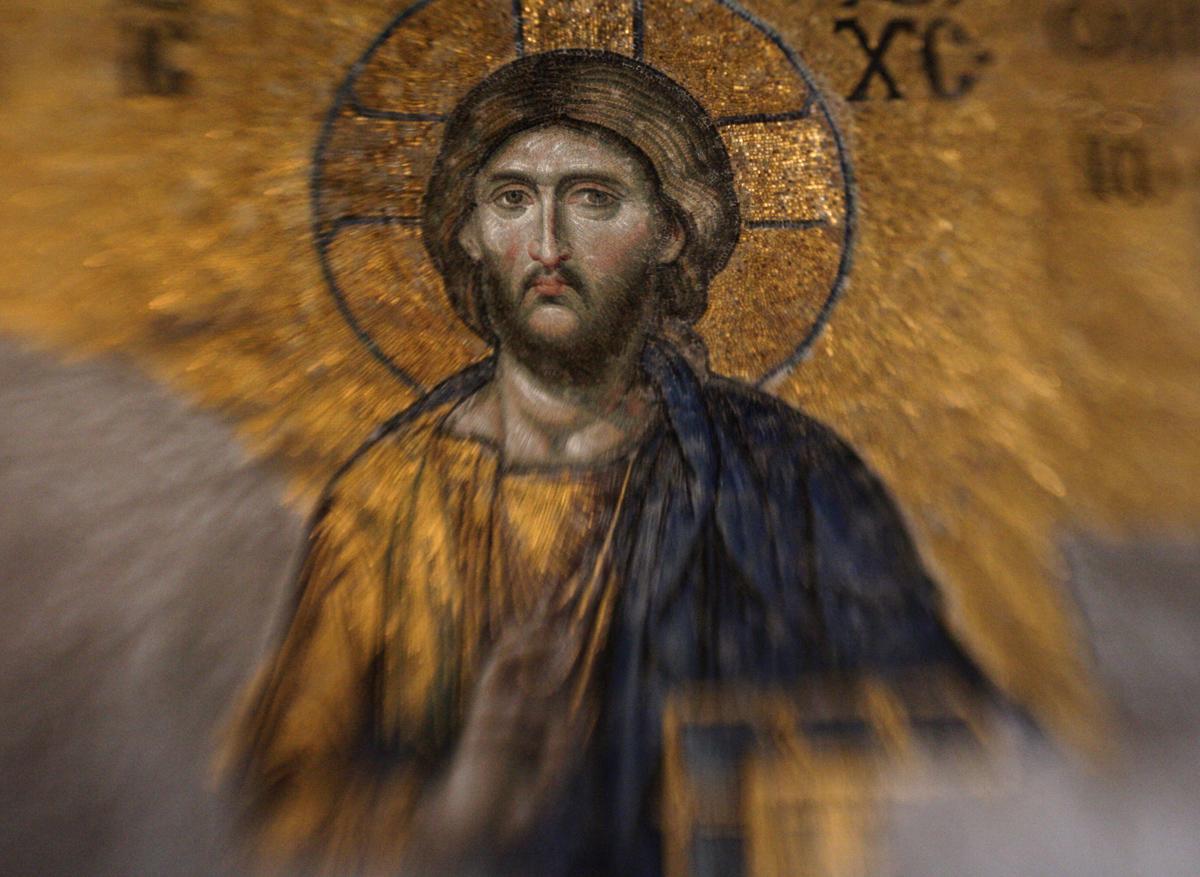 Jesus, Hagia Sophia, Istanbul, Turkey