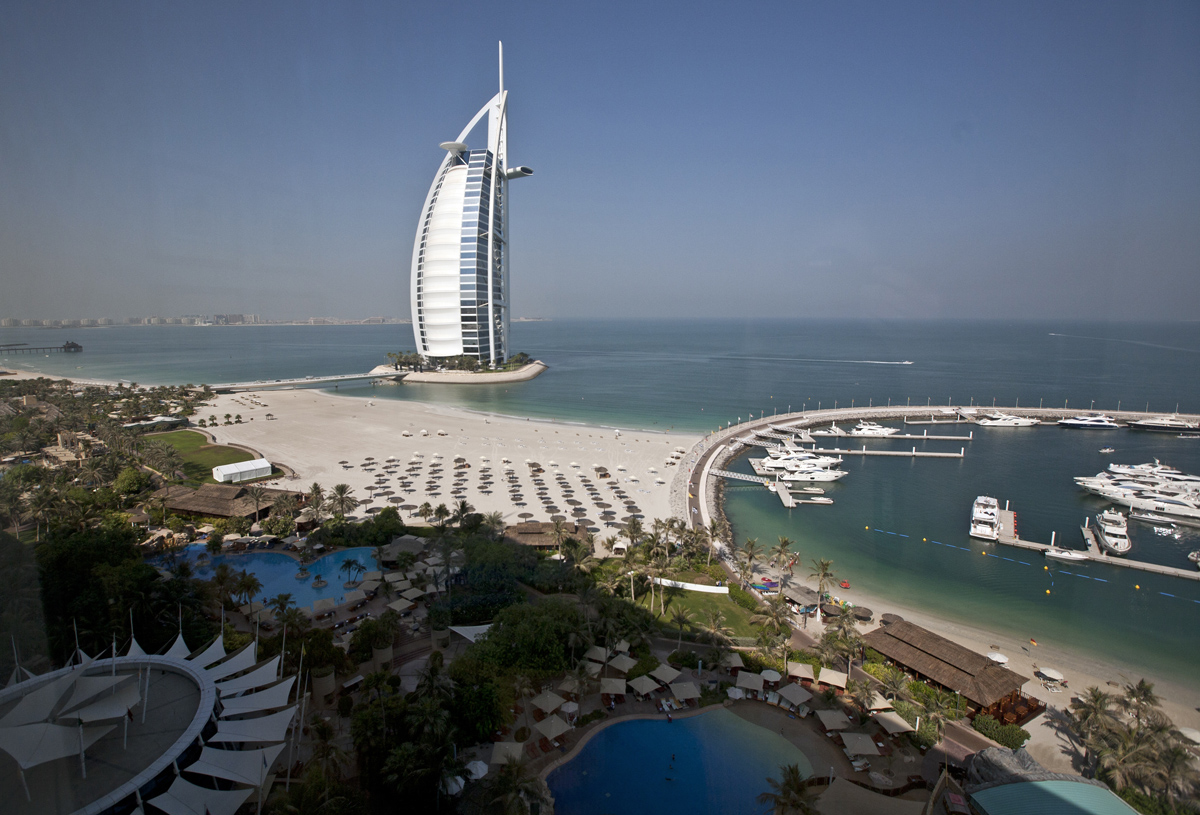 Jumeirah Beach Hotel View
