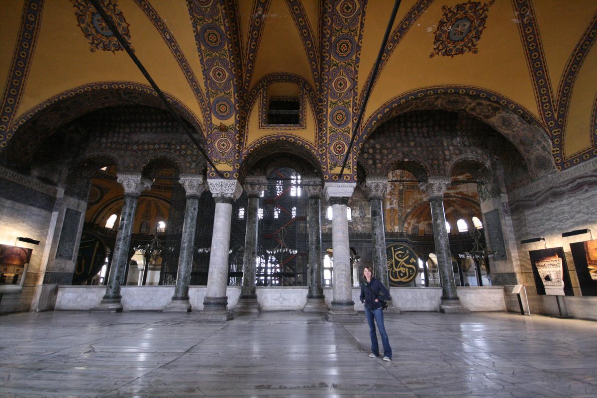 Kelly Lane, Hagia Sophia, Istanbul, Turkey