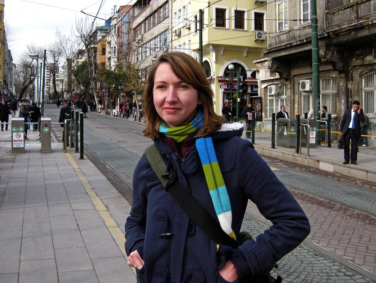 Kelly, Istanbul, Turkey