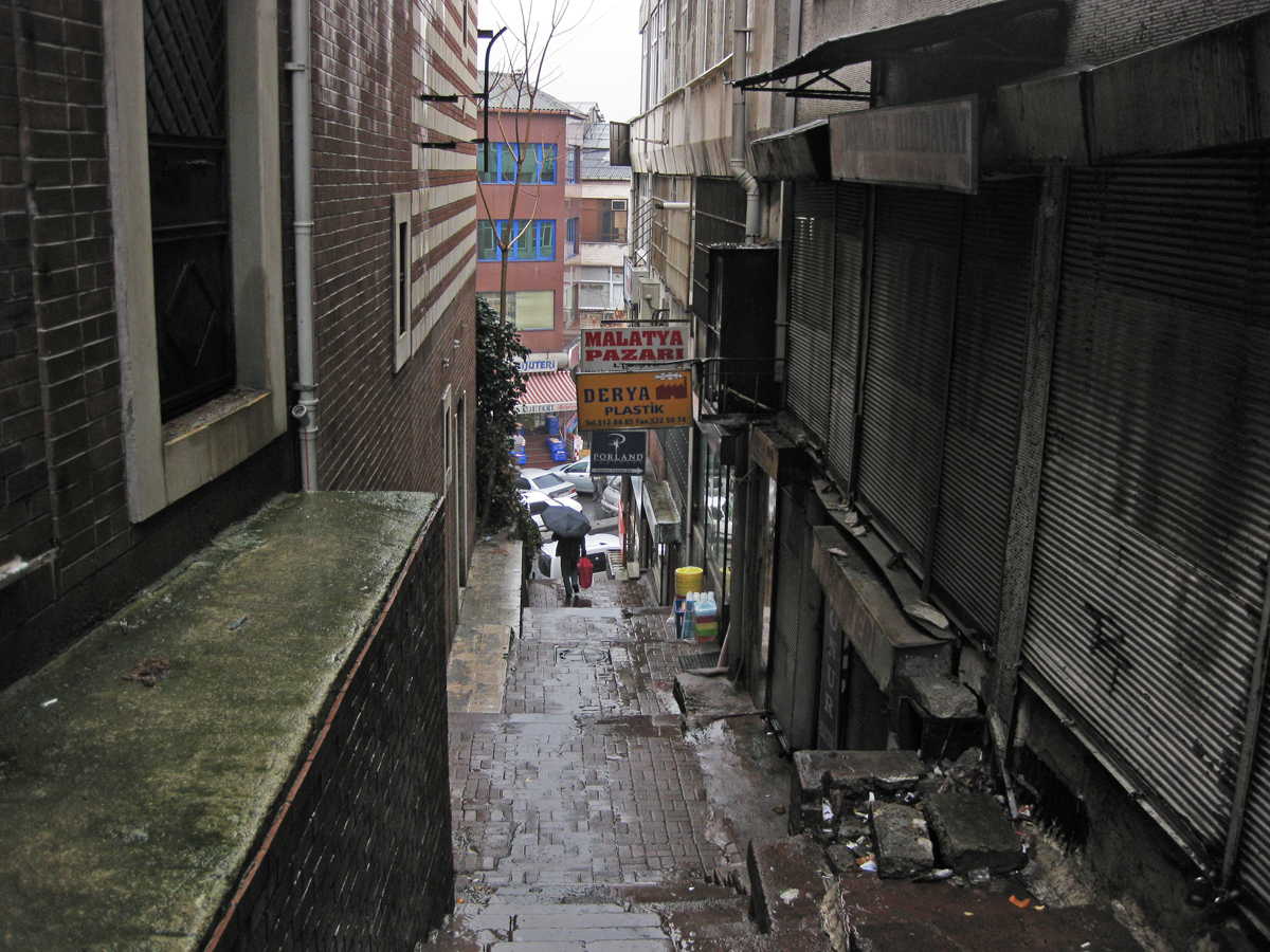 Alley, Istanbul, Turkey
