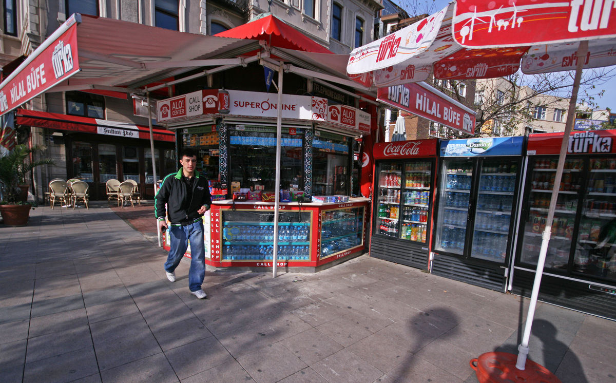 Roadside Stand, Istanbul, Turkey