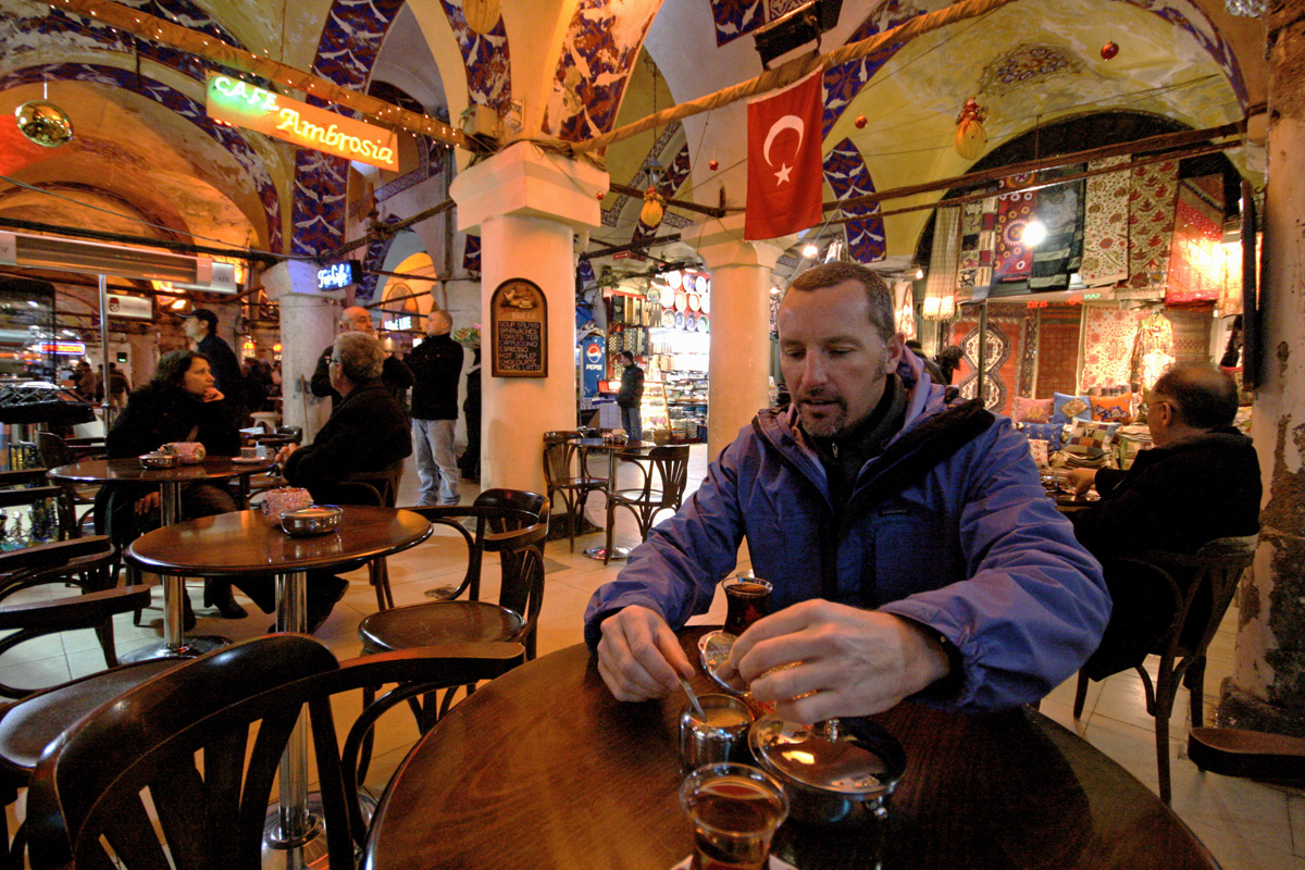Sterling & Tea, Istanbul, Turkey