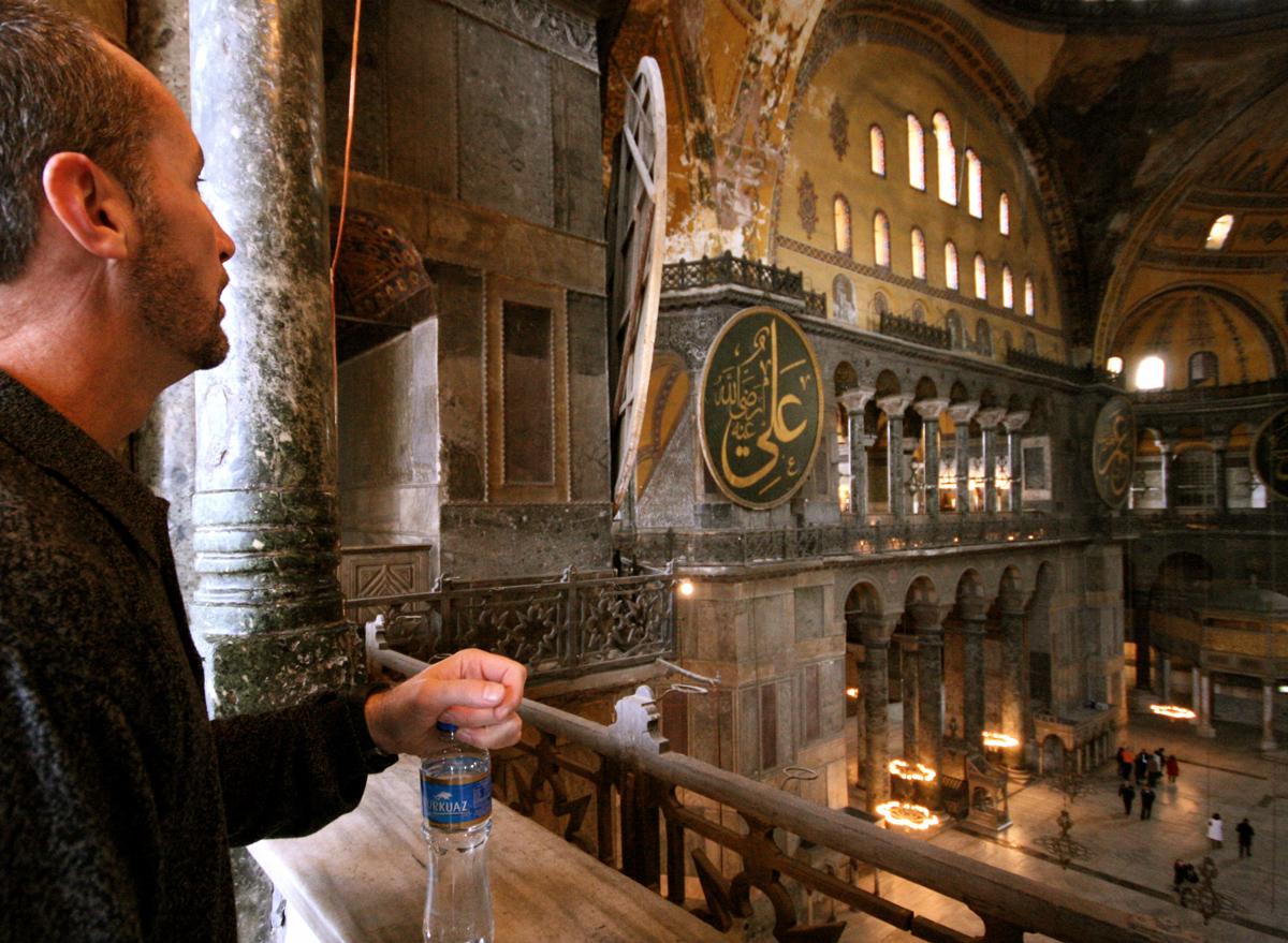 Sterling, Hagia Sophia, Istanbul, Turkey