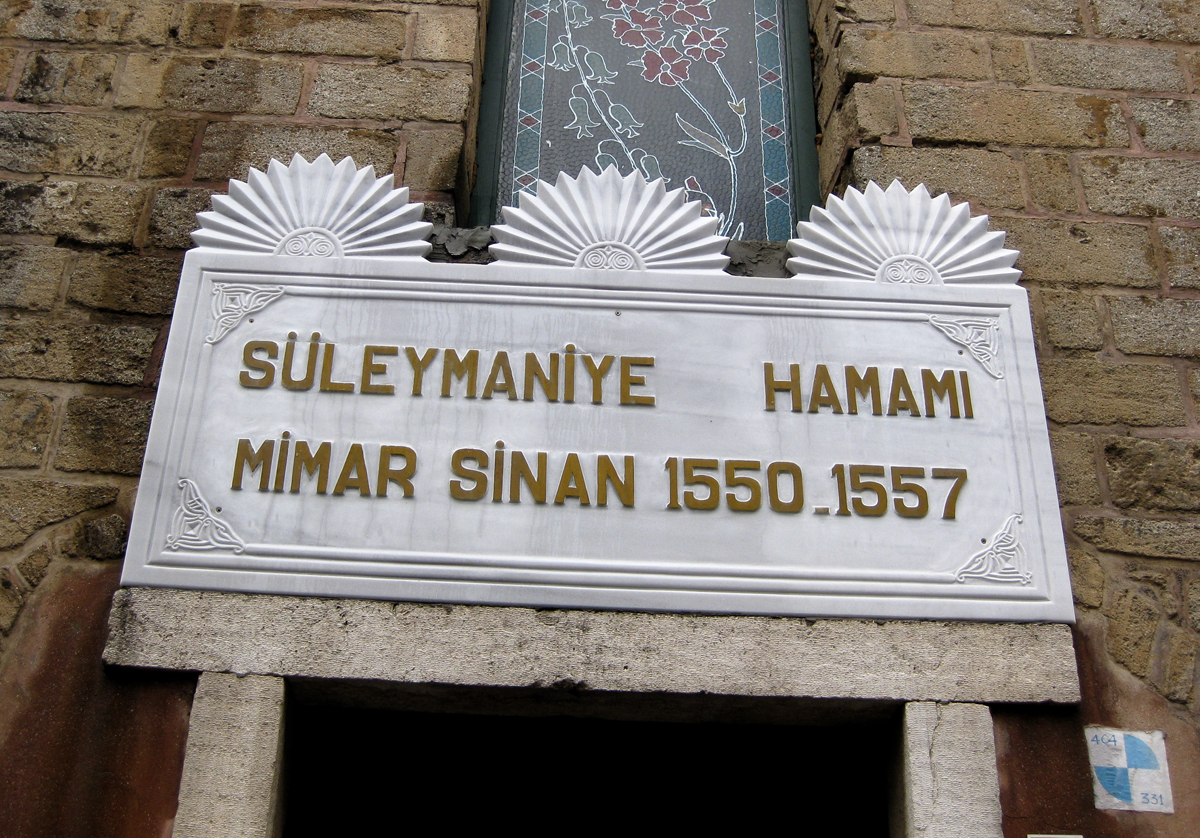 Suleymaniye Hamami, Istanbul, Turkey