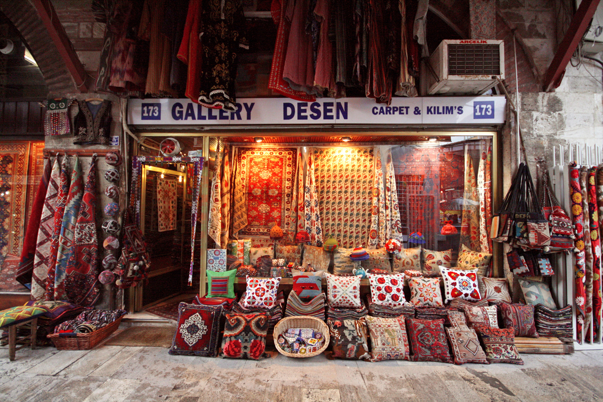 Turkish Rugs, Istanbul, Turkey