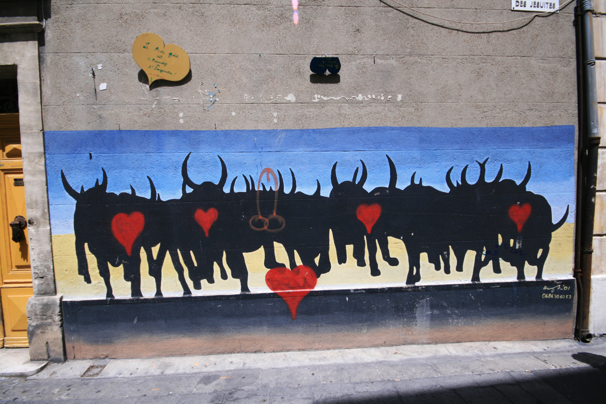 bull-mural