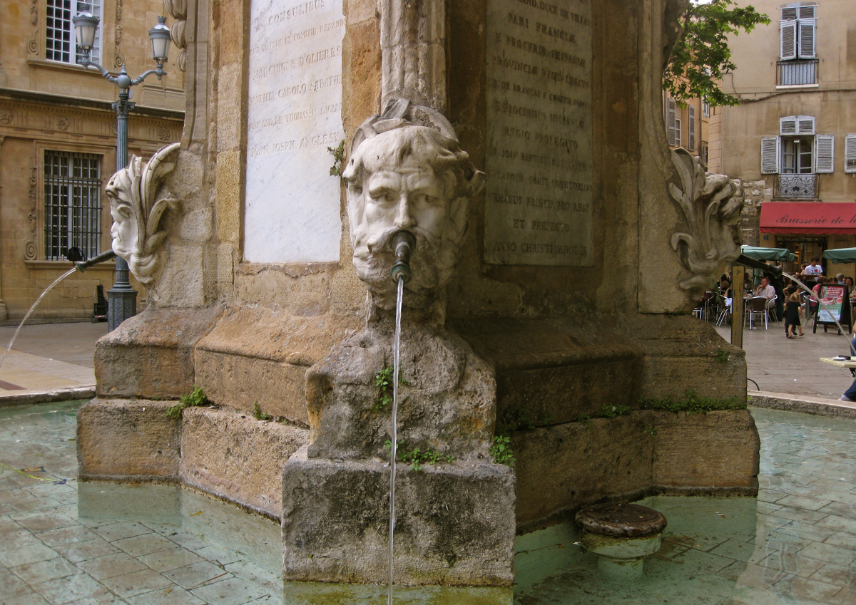 fountain-aix-en-provence