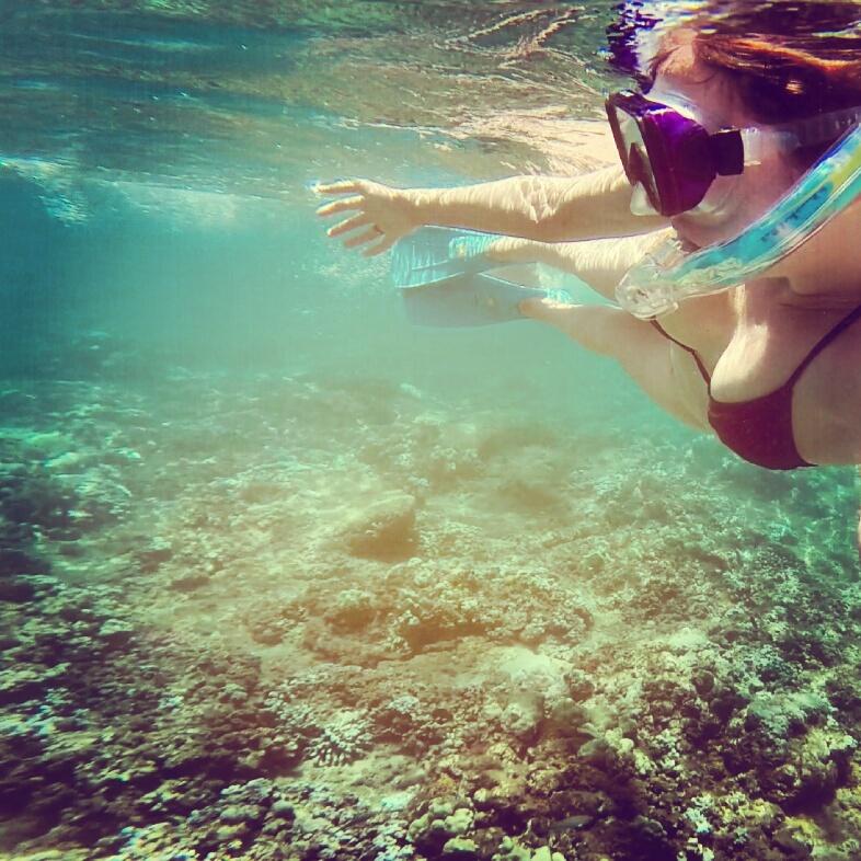 kelly-snorkeling-maui