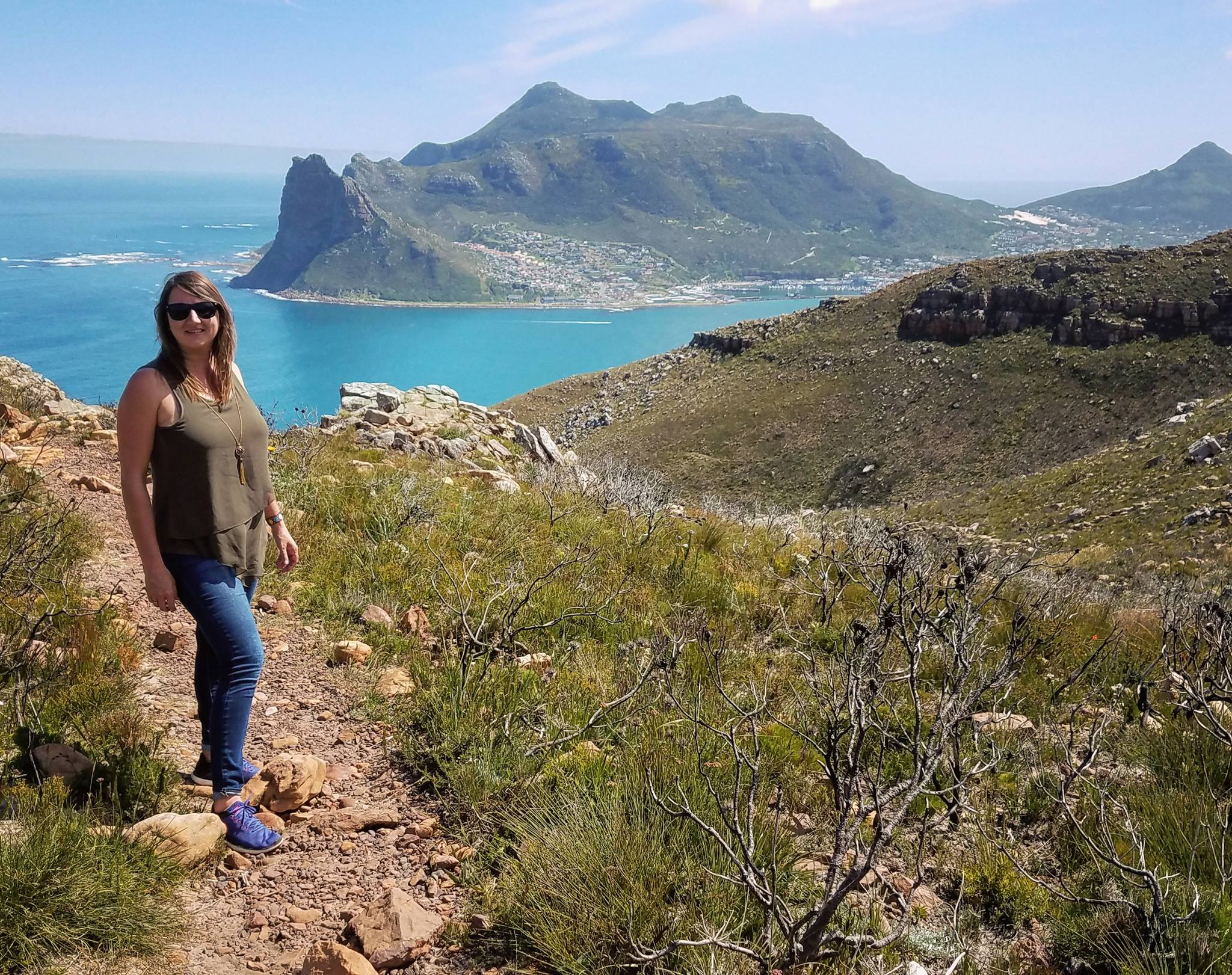 Hiking Chapman's Peak In Hout Bay