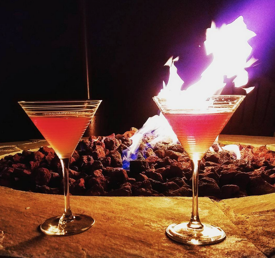 Campfire-cocktails