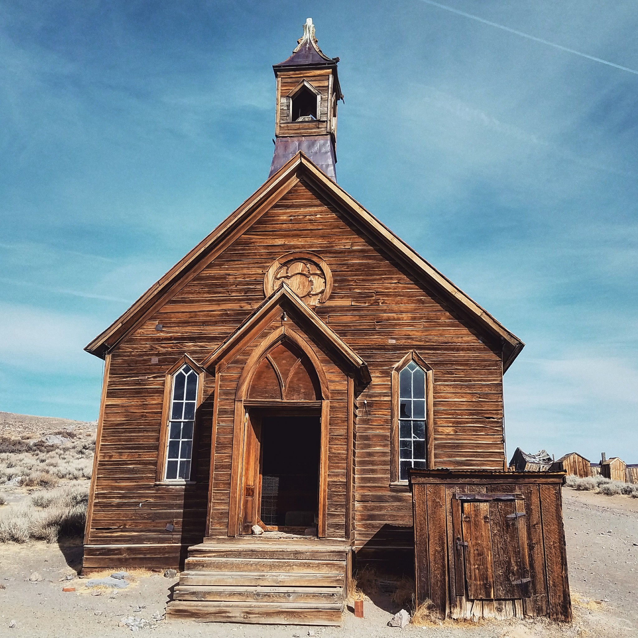 Bodie-ghost-town-church