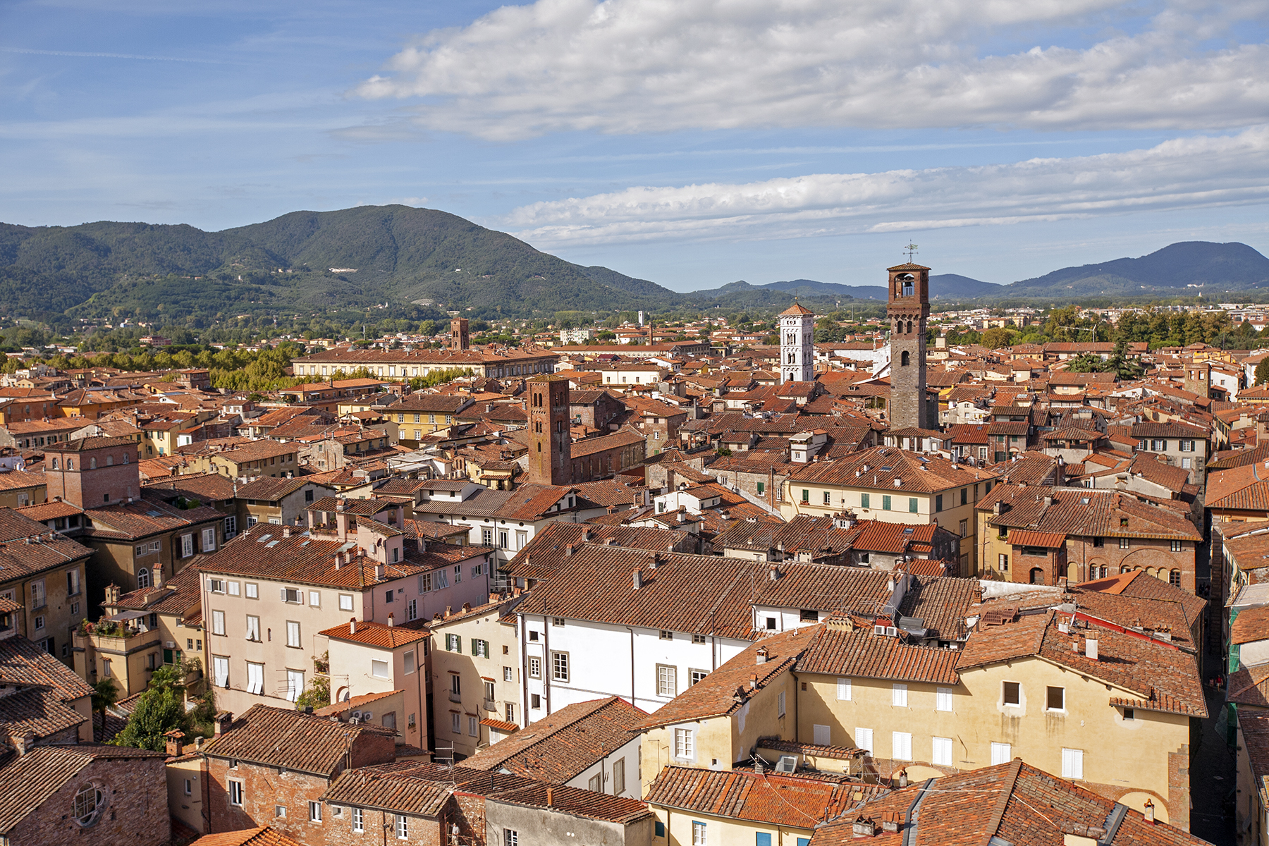 Two Weeks In Italy: Lunch In Lucca