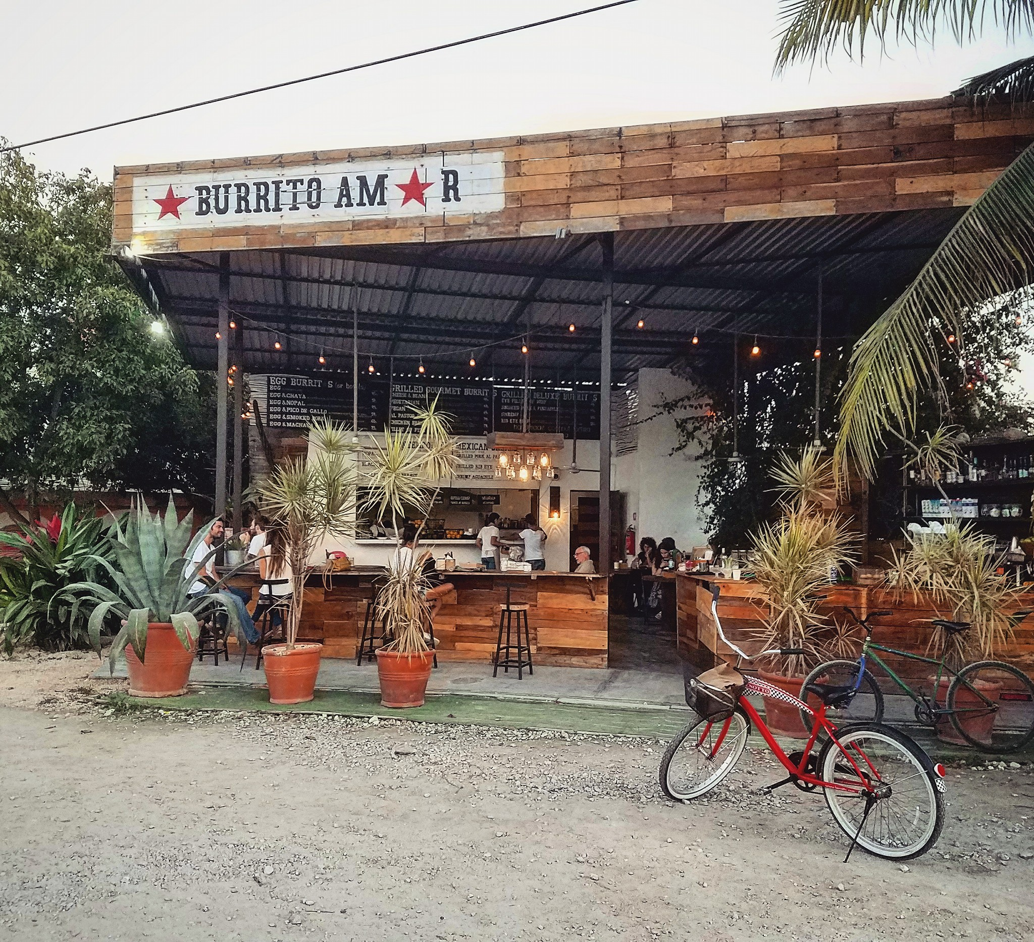 Burrito Amor, Tulum, Mexico