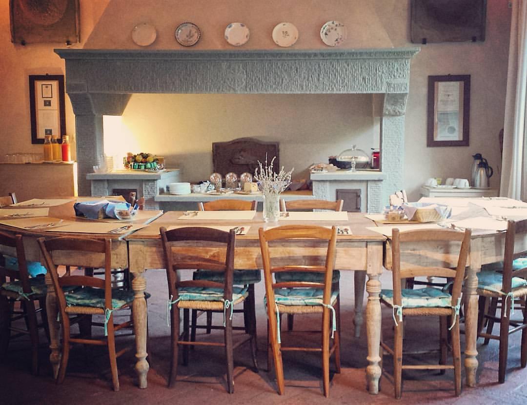 Castello-di-bibbione-breakfast-spread