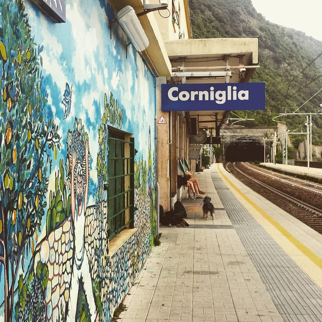 Train-station-cinque-terre