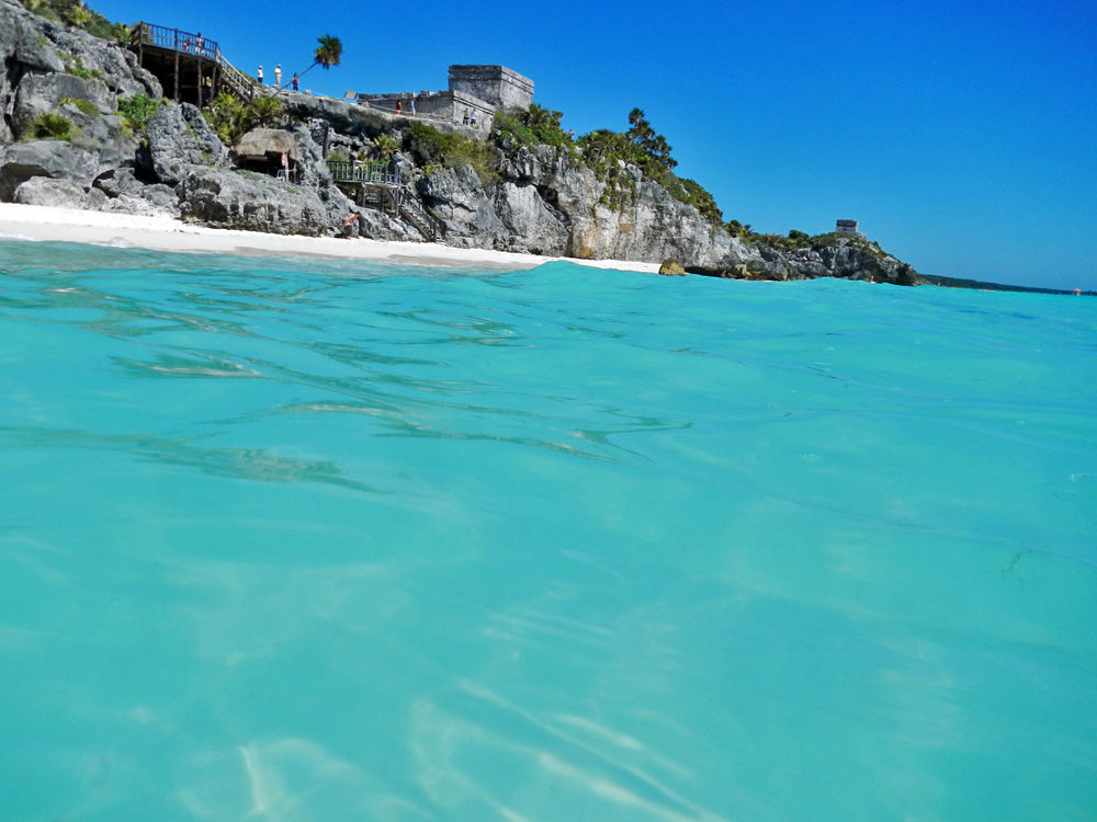 tulum-ruins-from-ocean-mexico