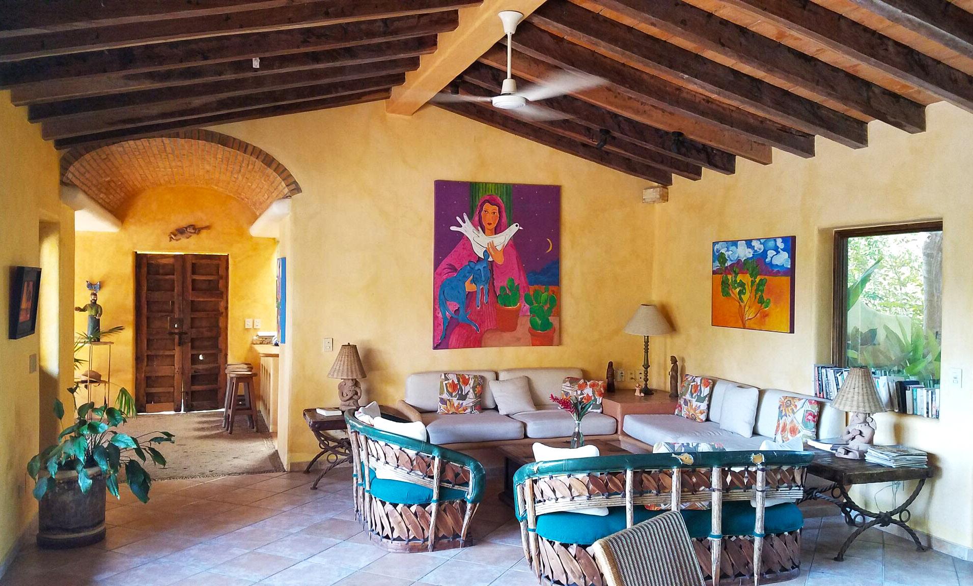 Villa-mariposa-living-room