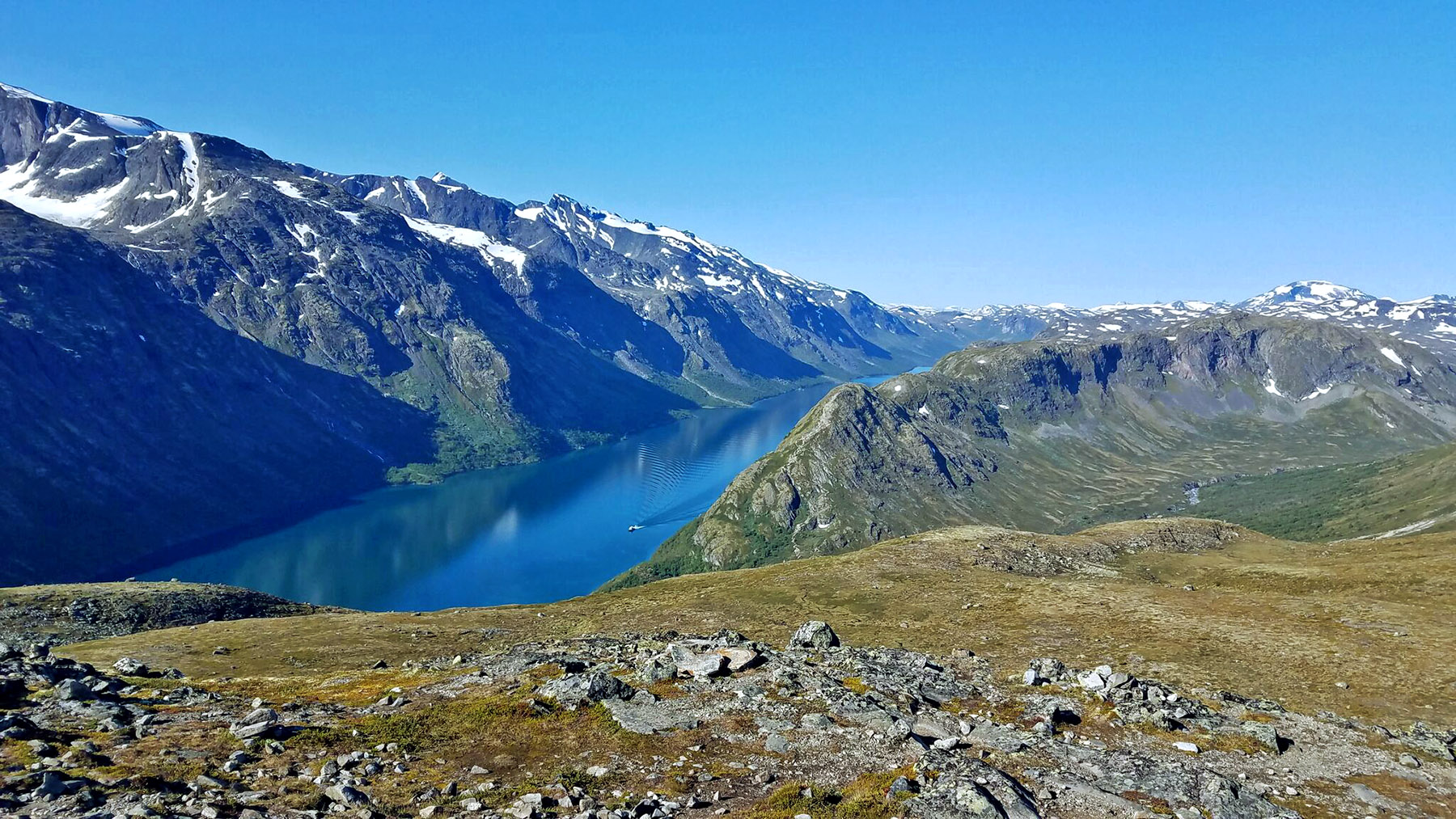 Besseggen Hike On Lake Gjende