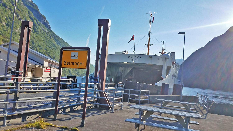 Geiranger-ferry