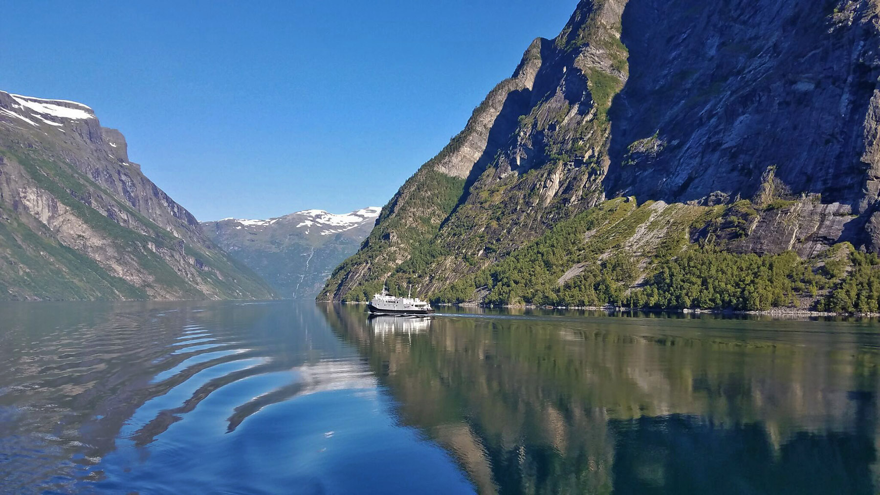 Geirangerfjord-board