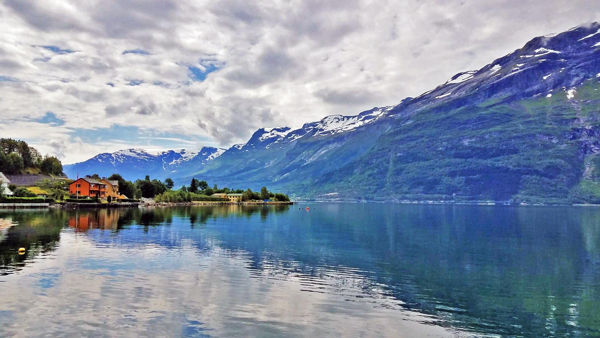 Lofthus-fjord