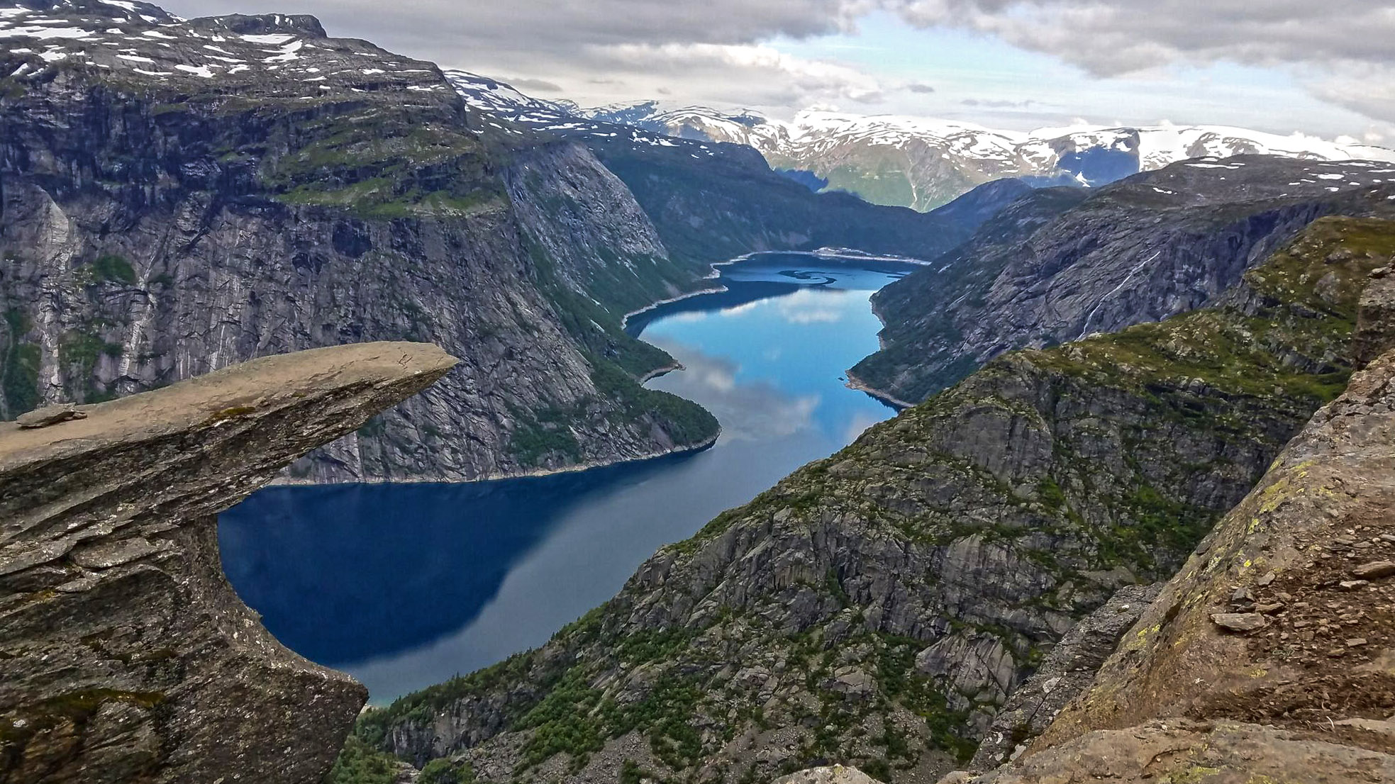 Hiking To Trolltunga In Norway