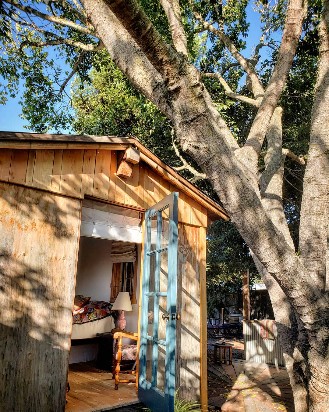 Los Alamos Hipcamp Cabin